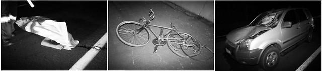 atropelamento ciclista rodovia