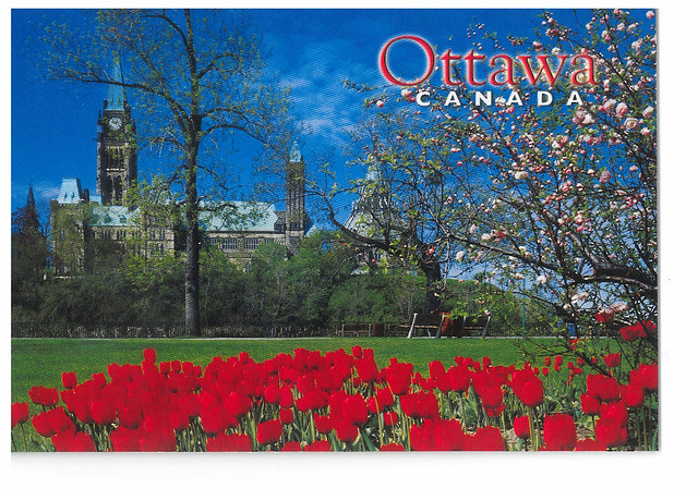 Canada - Ottawa - Majors Hill park and Parliament building