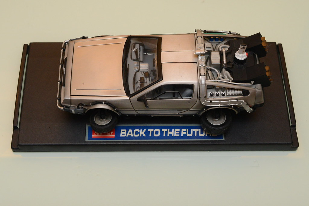 Back to the Future DeLorean DMC-12 回到未來模型車
