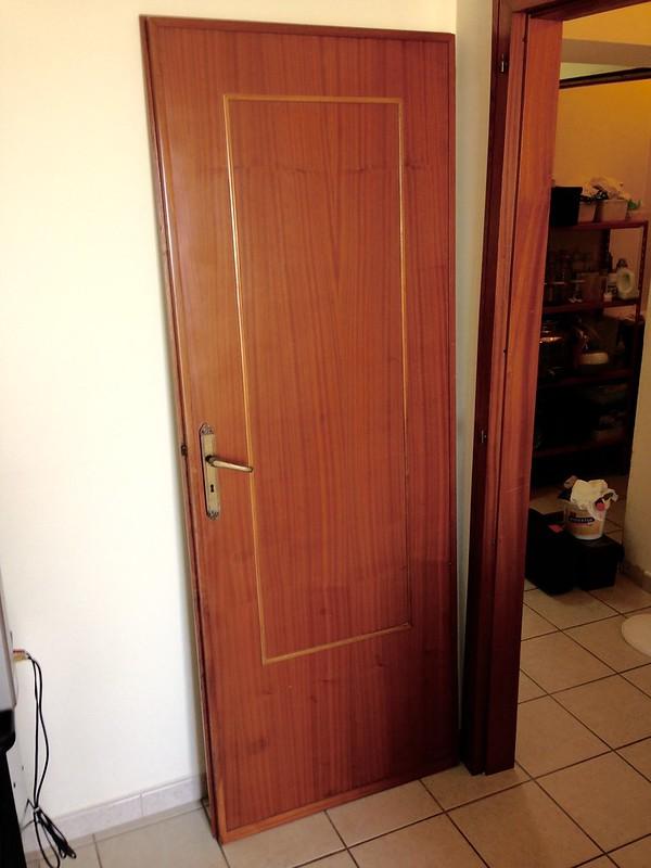 Restauro riparazione porte interne parti in mogano - Rinnovare porte interne tamburate ...