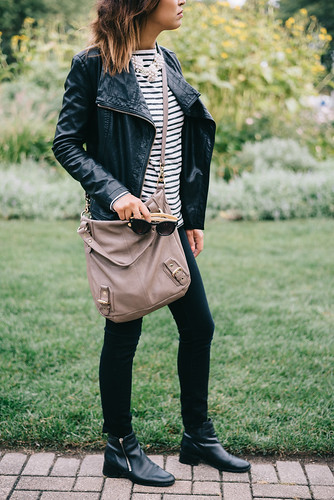Lust List: Leather and Stripes