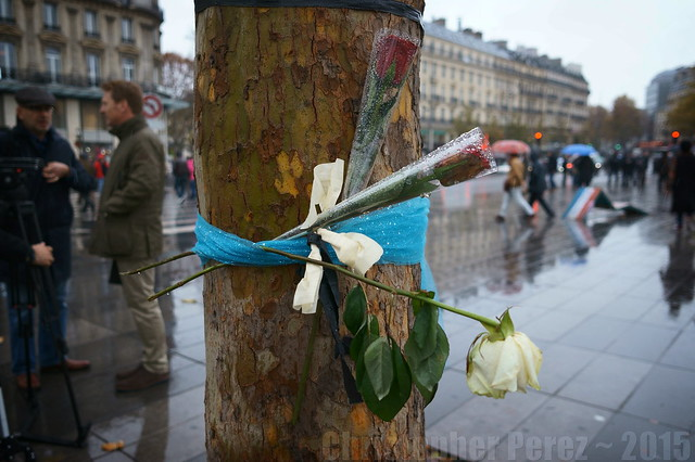 Scenes of Mourning ~ Paris after the November 13, 2015 attacks