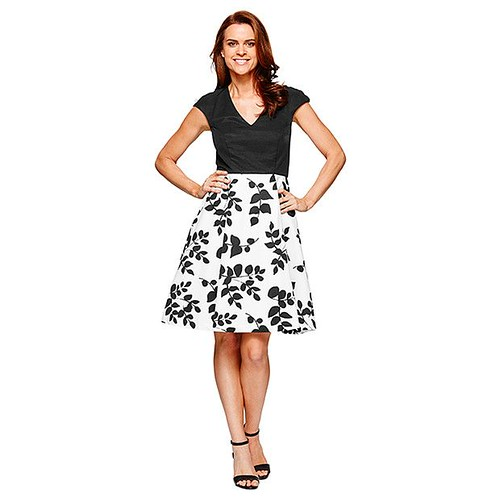 daytime summer glamour Black and White Target $69