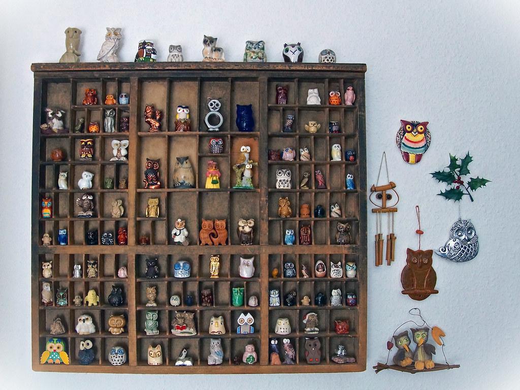 Eulensammlung - Owls collection