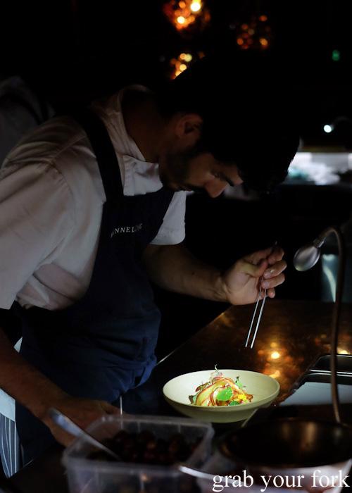 Cured and Cultured kitchen at Bennelong Restaurant, Sydney food blog restaurant review