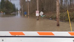 Flooding off 167 in South King