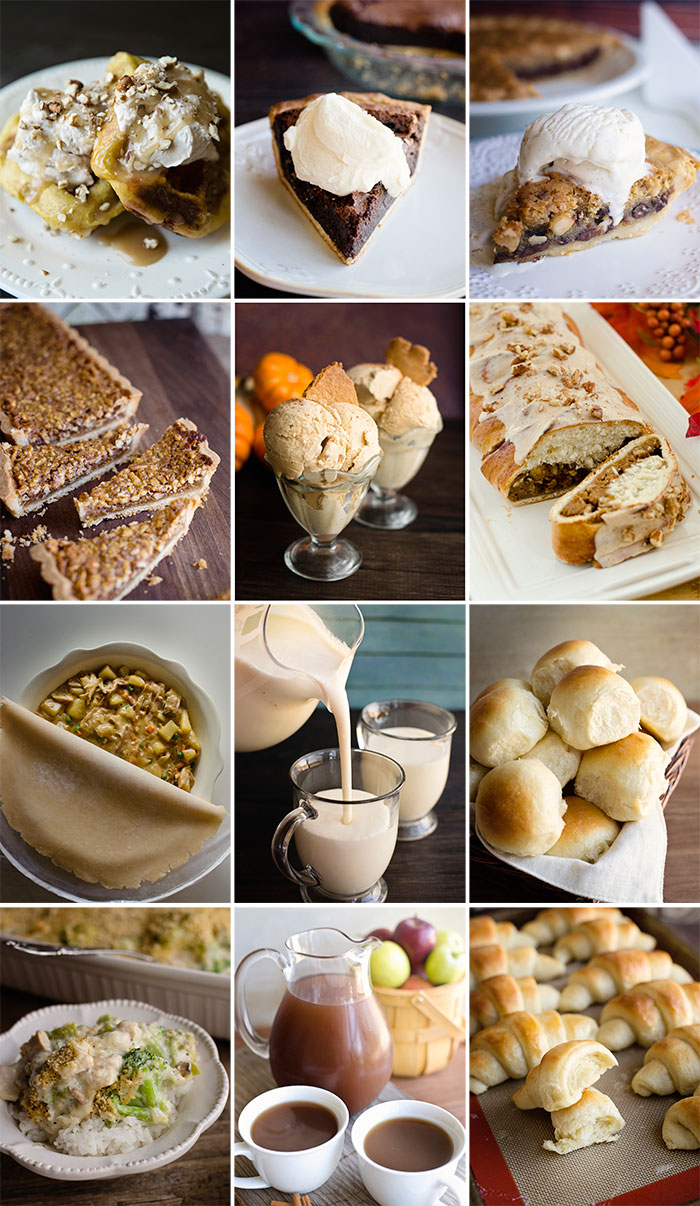 Dessert, drinks, breads and recipes for your leftovers. A homemade Thanksgiving cookbook