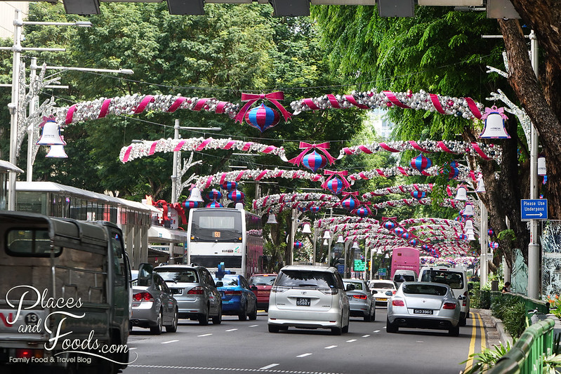 orchard road street christmas decoration