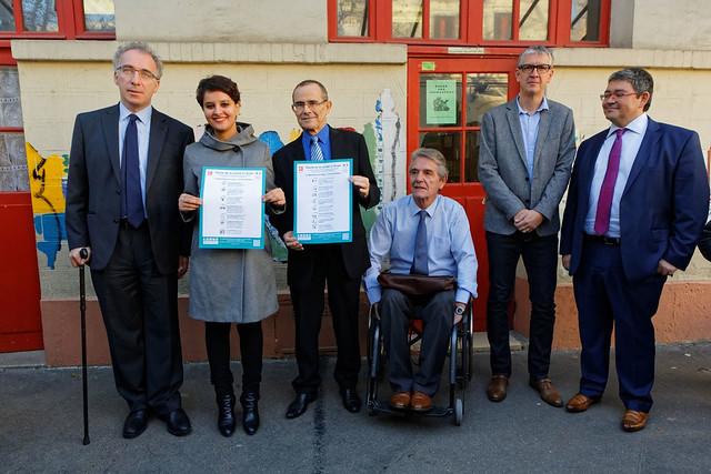 Journée internationale des personnes handicapées: la charte de la laïcité rendue accessible