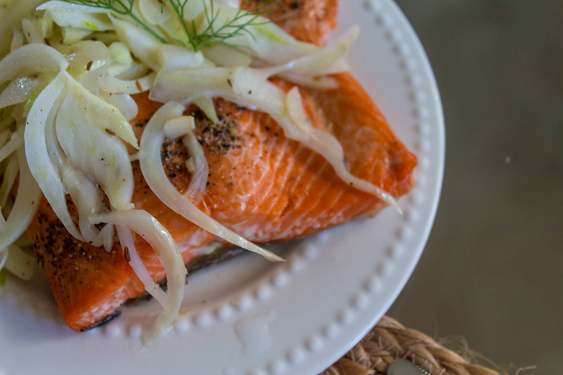 12.06. Slow Roasted Salmon with Fennel