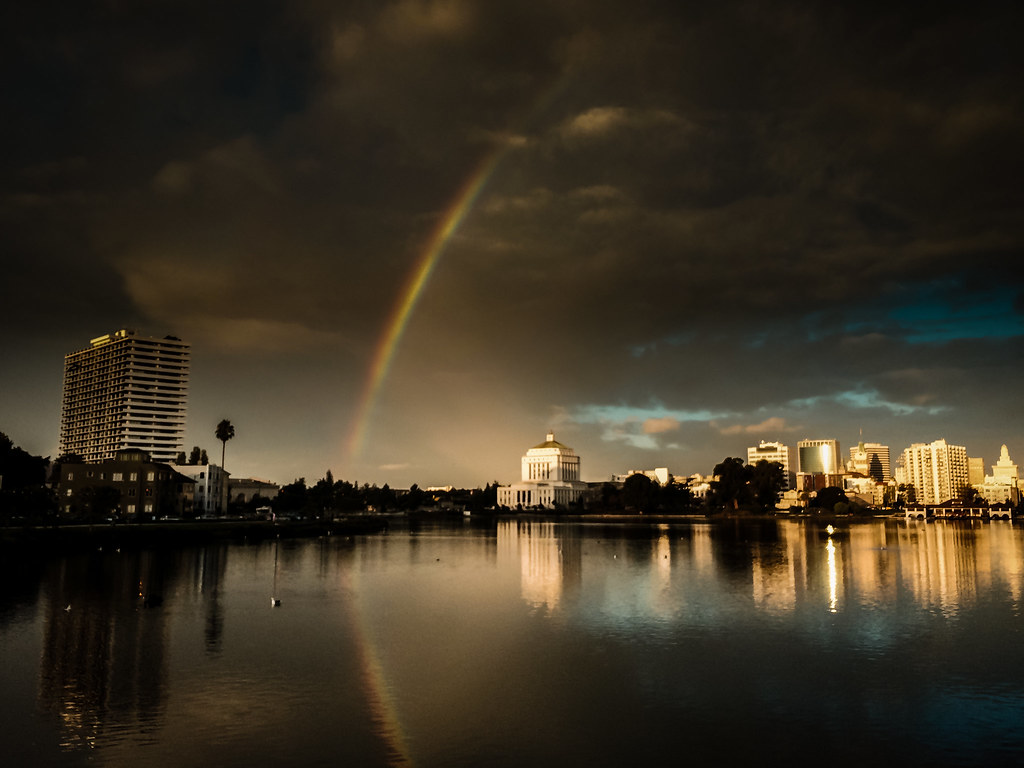 somewhere over the rainbow... Oakland
