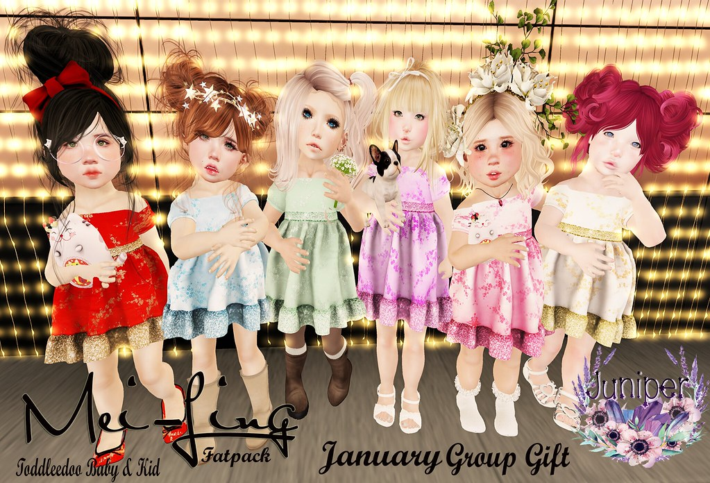 {Juniper} Jan. Group Gift Mei-Ling - SecondLifeHub.com