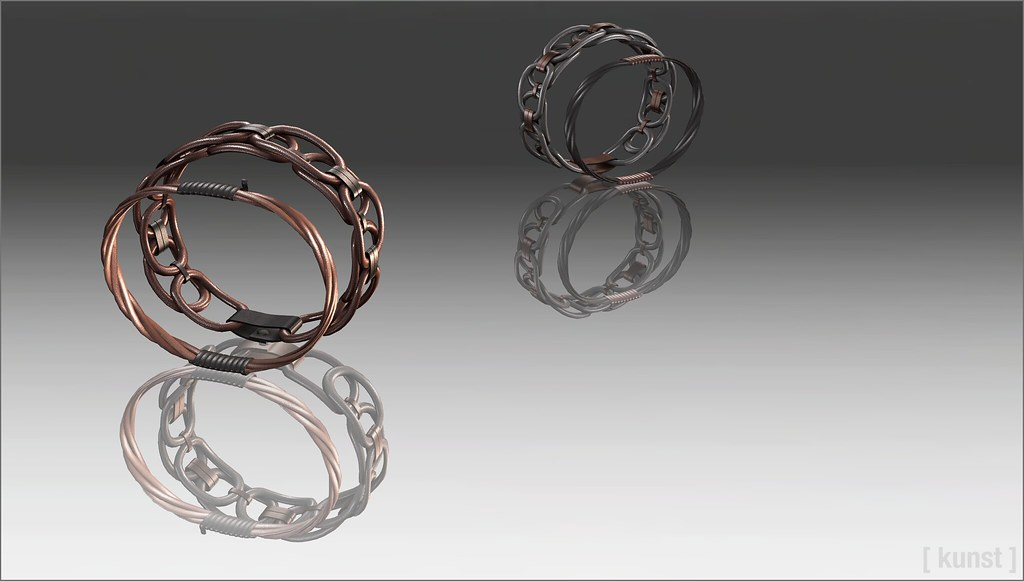 [ kunst ] - Morgan bracelets - SecondLifeHub.com