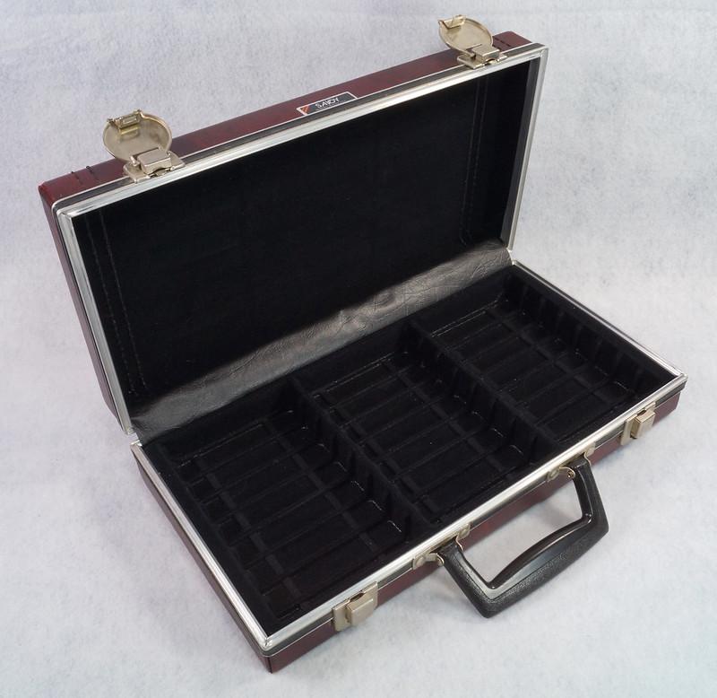 RD12878 Vintage Savoy 24 Cassette Tape Case Haverhill, MA with Bonus Tapes DSC08094