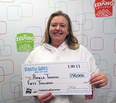 Pamela Thomas - $50,000 Corner Club Cashword