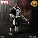MEZCO – ONE:12 COLLECTIVE 系列【制裁者:法蘭克.卡索】MARVEL Classic Punisher 1/12 比例人偶作品