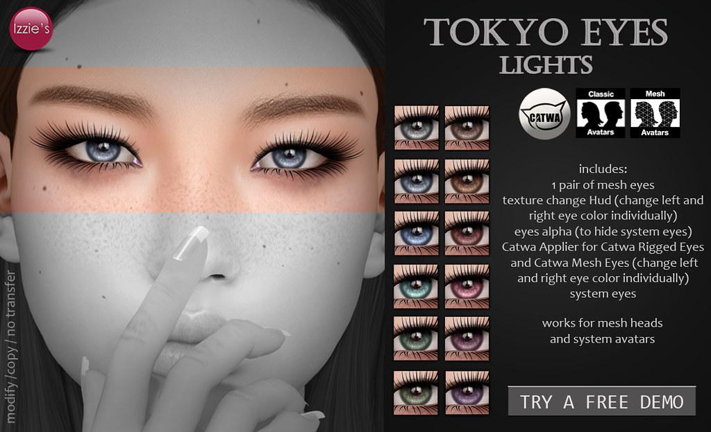 Tokyo Eyes (lights) - SecondLifeHub.com
