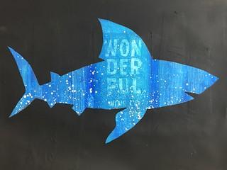 10 Shark Reverse Silhouette