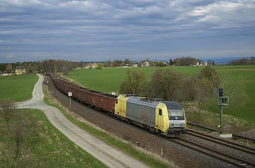 Dispolok ER 20.004  Kornbach 26/04/2012