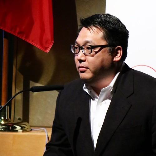 ノンフィクション作家の上田さん。カナダ旅行記を書籍化する予定。 #lovecanada150