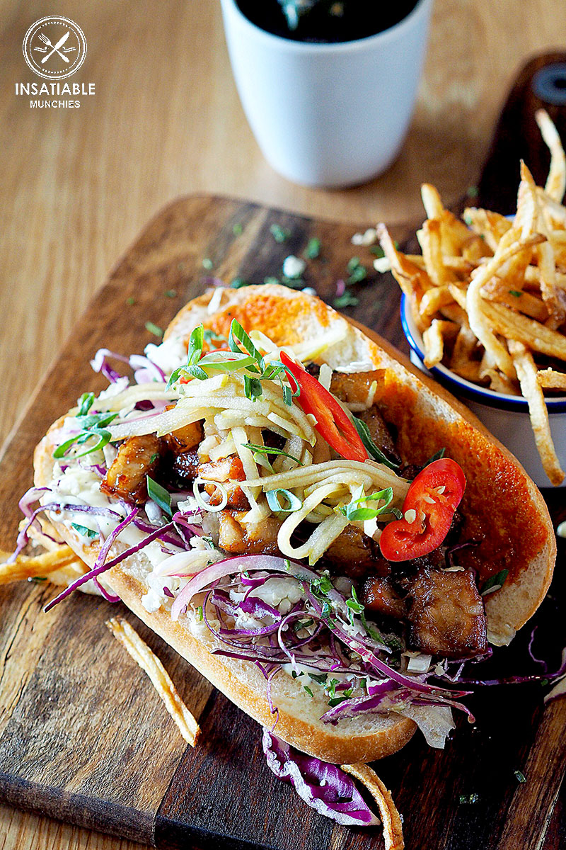 Sydney Food Blog Review of Hungry Wolf, Wollongong: Pork Belly Po' Boy, $10