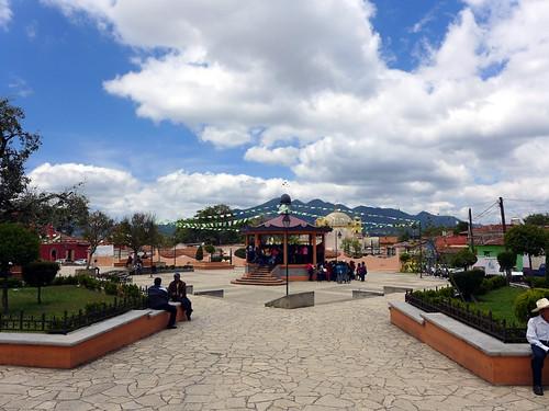Plaza en San Cristobal d.L.C.