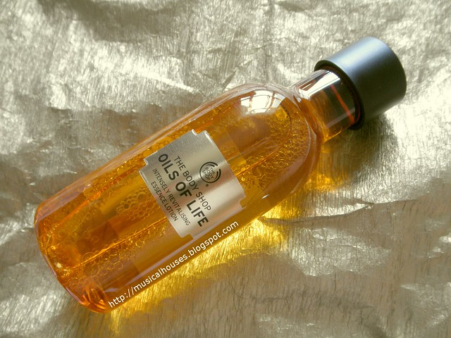 The Body Shop Oils of Life Essence Lotion Bottle