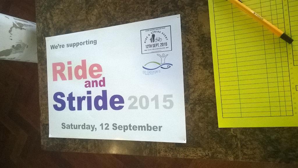 Ride+Stride 2015