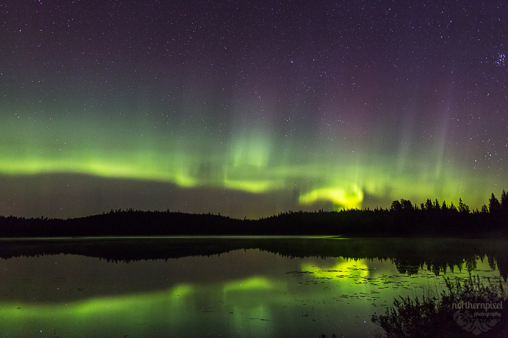 Aurora Reflections - Prince George BC