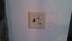 Front Hall Switch (Before)