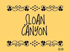 Buzzword Bingo: Sloan Canyon