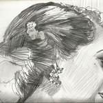 Little Gem (detail). Pencil. ALAN MORLEY.