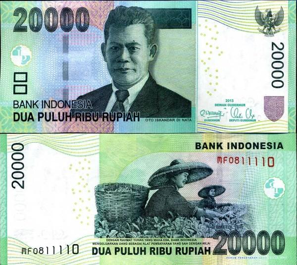 20 000 Rupií Indonézia 2013 P151