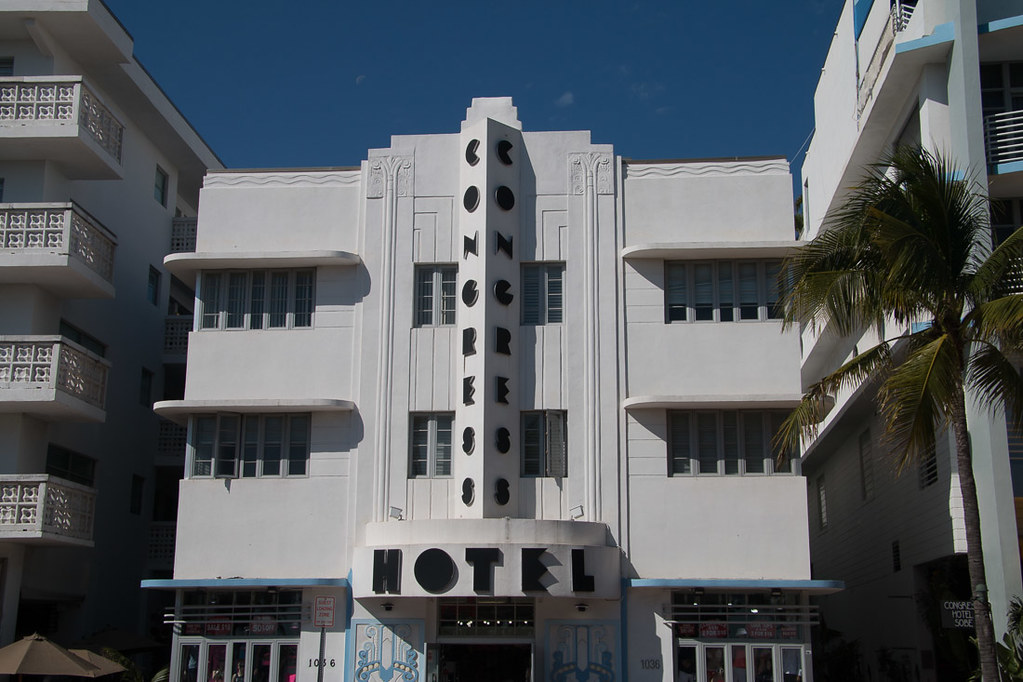 Congress Hotel in South Beach