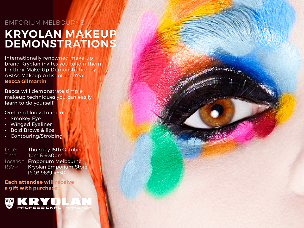 Kryolan Customer Demonstrations