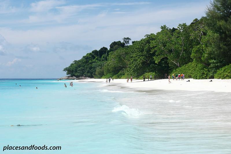 tachai island side view