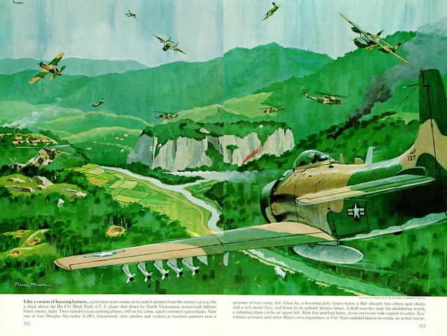 NATIONAL GEOGRAPHIC 1968-09 (4) - Air Rescue Behind Enemy Lines