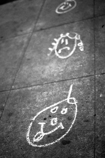 Street Chalk Drawing