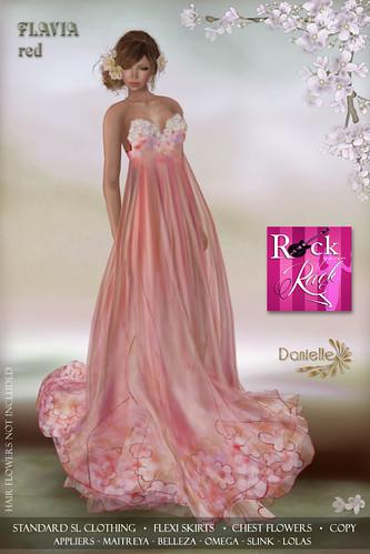 DANIELLE Flavia Red RYR
