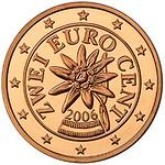 2015 Austria 2 Euro coin