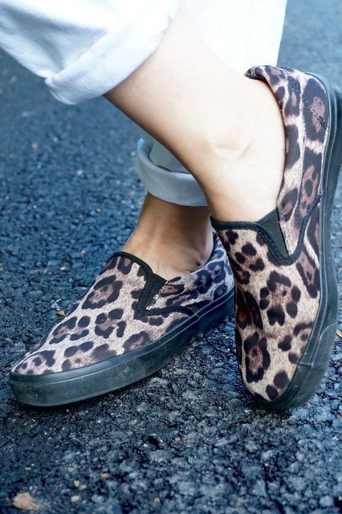 leopard print pumps trainers katelouiseblog