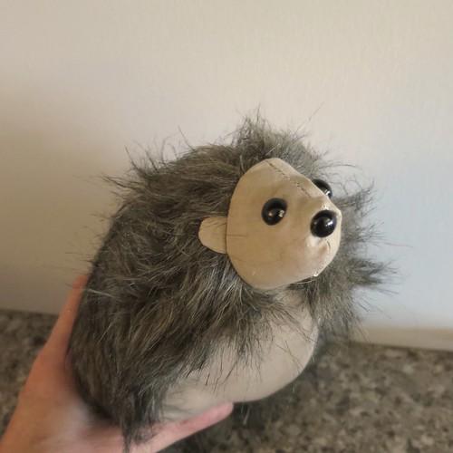 Iron Craft '15 Challenge #19 - Stuffed Hedgehog (Attempt)