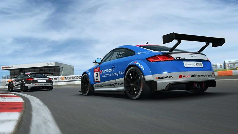 R3E Audi TT Cup Car