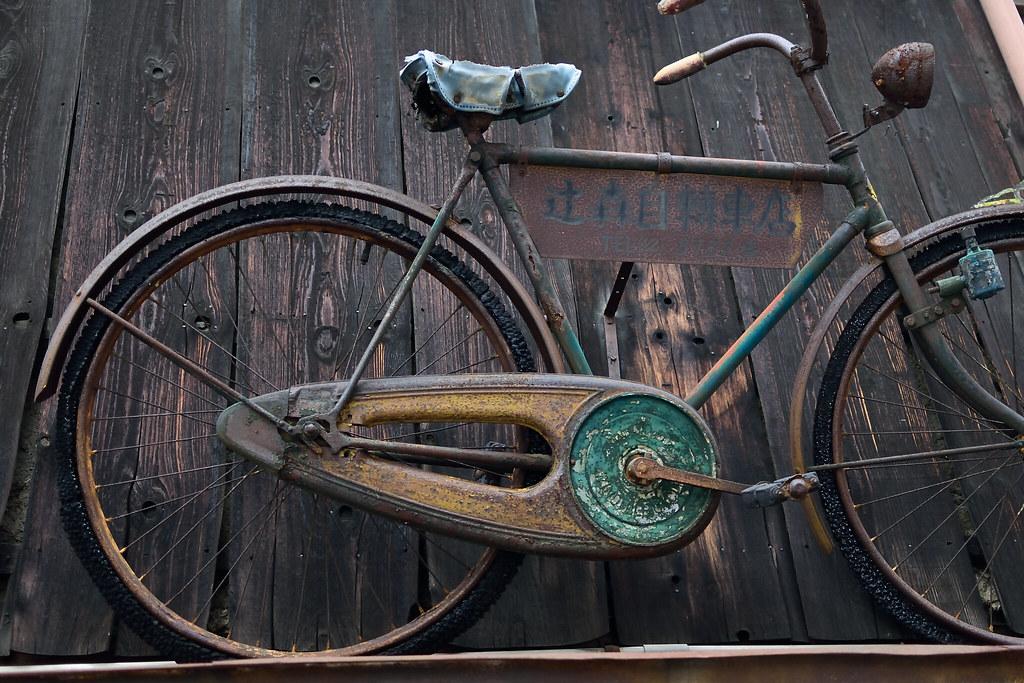 漕げない自転車