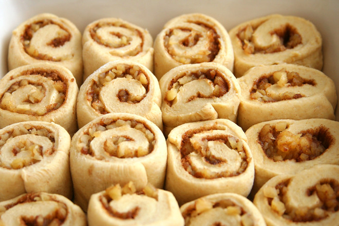 apple cinnamon rolls 2