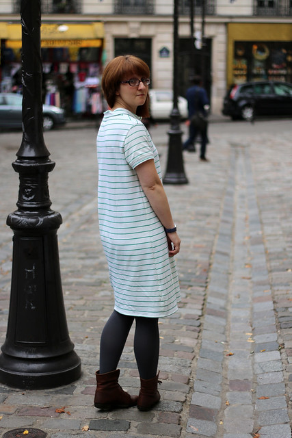 Self Drafted Polo Shirt Dress