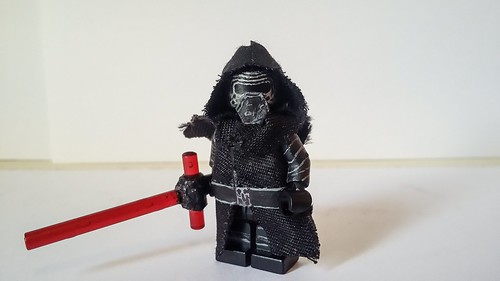 Star wars-The force awakens. Kylo Ren V.2.0