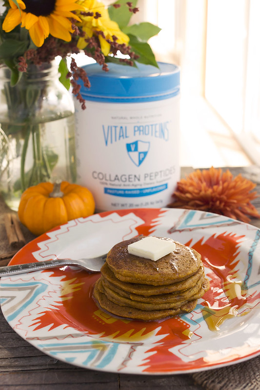 Grain-free Pumpkin Spice Pancakes