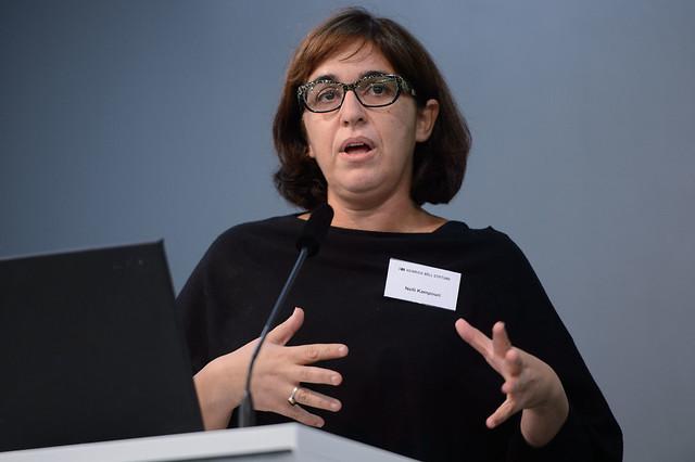 Nelli Kampouri (Gendertheoretikerin, Panteion Universität, Athen) Foto: Stephan Röhl
