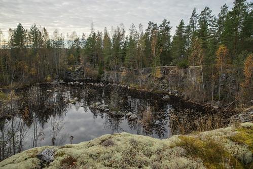 suomi finland pond woods hiking path route metsä kuni lampi vaellus polku reitti korsholm